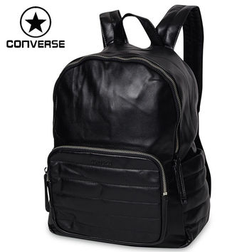 converse backpack silver