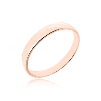 "STACK RING ""BAND PINK GOLD"""
