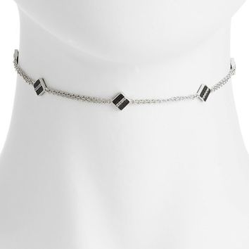 FREIDA ROTHMAN Contemporary Deco Choker Necklace | Nordstrom
