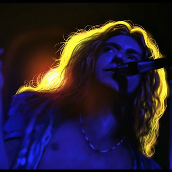 Robert Plant Portrait | Led Zeppelin