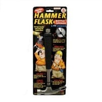 Forum Novelties 64280 Hammer Flask, Bottle Opener & Ice Crusher