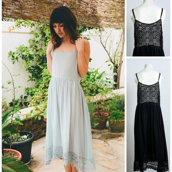Dainty Lace Bodice Night Gown