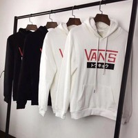 VANS Fashion Hooded Top Pullover Sweater Sweatshirt Hoodie G