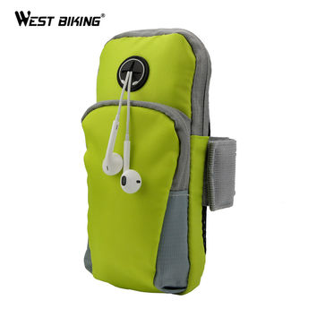 Sport Bag Phone Holder Jogging GYM Adjustable Cover ArmBand Cover Wallet Running Accessories Cycling Riding Running Arm Bags