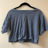 American Apparel Boxy Crop Top