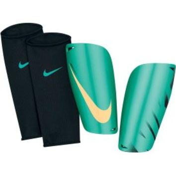 Nike Mercurial Lite Soccer Shin Guards - Teal/Yellow - Dick's Sporting Goods