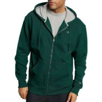 Champion Men's Powerblend Full Zip Fleece Hoodie | DICK'S Sporting Goods