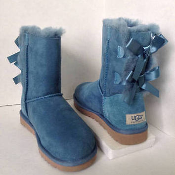 NEW UGG AUSTRALIA Woman's Bailey Bow Everglade Boots (Size 5 & 8) - MSRP $205.00