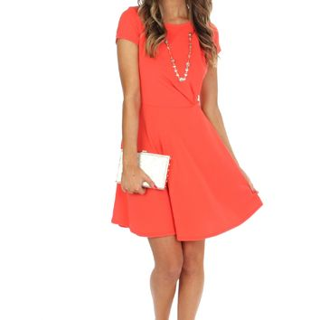On The Bright Side Flare Dress