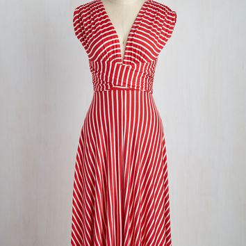 Sun-soaked Afternoon Dress in Scarlet | Mod Retro Vintage Dresses | ModCloth.com