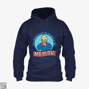 Call Mr Plow, The Simpsons Hoodie