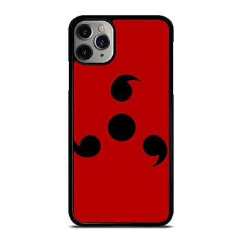 NARUTO SHARINGAN ICON MINIMALISTIC iPhone Case Cover