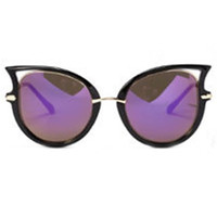 Cat Eye Shape Frame Sunglasses