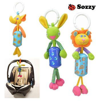 Sozzy Fashion Baby Rattles & Mobiles Educational Toy For Baby Stroller Cartoon Toys for Newborns Teether Juguetes Bebe Brinquedo