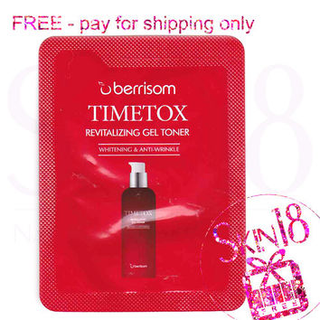Freebies - Berrisom Timetox Revitalizing Gel Toner (Sample Pack)