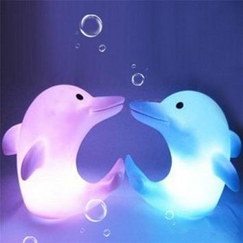 Dolphin Love - LED Nightlights