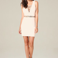 HARLOW DOUBLE V DRESS