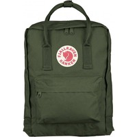 Fjallraven Kanken Durable Backpack Unisex Lovers' School Travel Bag( Frost Green )
