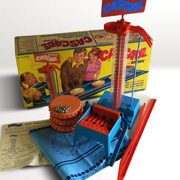 1972 Matchbox Cascade Game Number 520001 / Battery Operated Game / Retro Toy Game