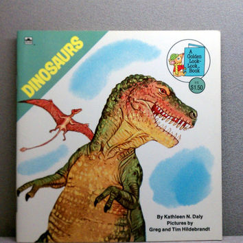 DINOSAURS - Vintage Childrens Book