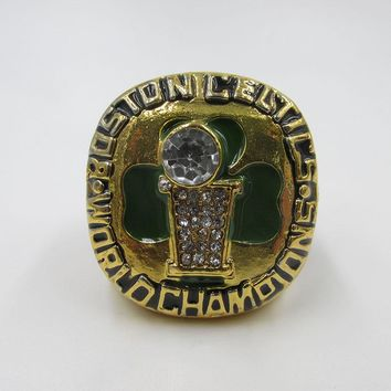 Basketball Boston celtics 1986 world champion ring