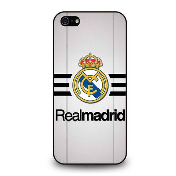 REAL MADRID FOOTBALL CLUB iPhone 5 / 5S / SE Case Cover
