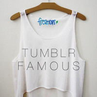 TUMBLR FAMOUS Fresh Tops Crop Top | fresh-tops.com