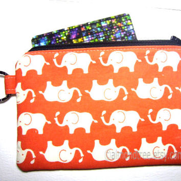 Not White Elephant cosmetic pouch, zipper makeup bag, travel organizer, gift for her, id1330653, gadget case, portefeuille, portemonnaie