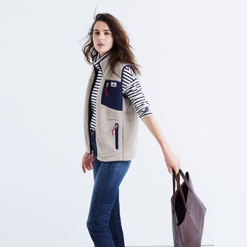 Penfield® Lucan Fleece Vest : | Madewell