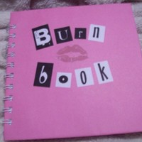 mean girls inspired BURN BOOK journal