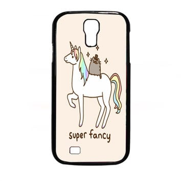 Pusheen Cat With Unicorn for Samsung Galaxy S4 Case *NP*