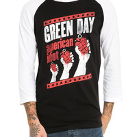Green Day American Idiot Raglan