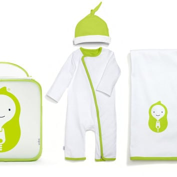 4 Piece Easy Change Playsuit Gift Set