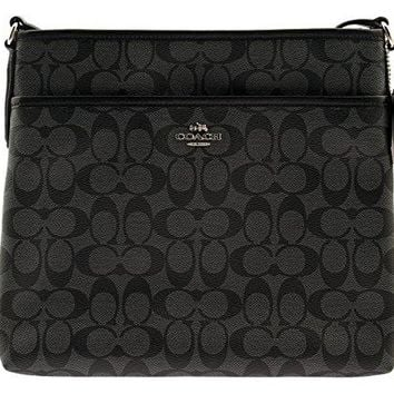 Coach Signature File Crossbody Bag COACH bag