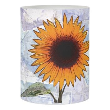 Thanksgiving Sunflower Flameless Candle