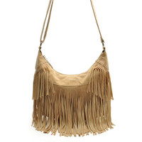 B102208W.Hot Sale woman fashion handbag,ladys leather shoulder bag.casual girl's vintage tassel messenger bag.free shipping