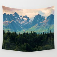 Escaping from woodland hights Wall Tapestry by ''BoGiatzi.