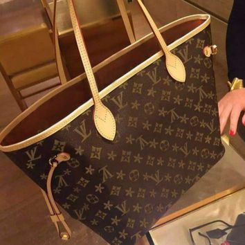 LV Fashion Trending Women Shopping Leather Tote Handbag Shoulder Bag Pattern G