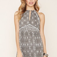 Crocheted Ornate Cami Dress