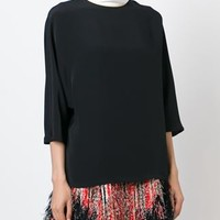 Fendi Contrast Roll Neck Blouse - Max-b - Farfetch.com
