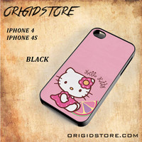 Hello Kitty Pink Lemon For Iphone 4 Case - Gift Present Multiple Choice