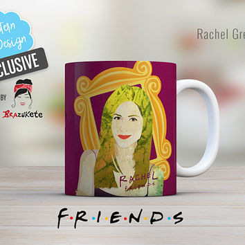 Friends Rachel Green Mug Exclusive TV Series Show / 11 and 15 oz. / No uterus No opinion