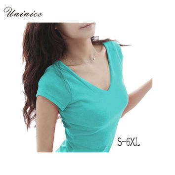 women Tops Tees 5XL 6XL  summer style women casual womens t-shirt roupas femininas short sleeve tshirt t shirts for women