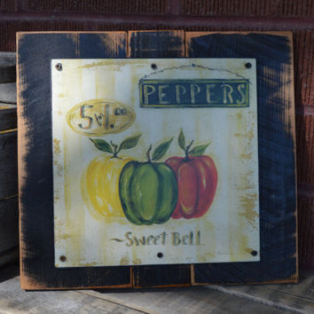 Kitchen Wall Decor Plaque - Set of 3 Signs