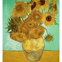 Sunflowers, c.1888 Giclee Print by Vincent van Gogh at AllPosters.com