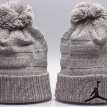 Jordan Women Men Embroidery Beanies Knit Hat Cap-9