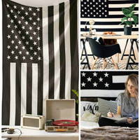 American Flag Magical Thinking Wall Hanging Tapestry Beach Bed
