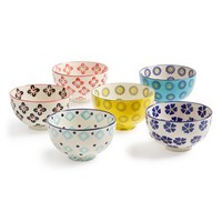 Signature Housewares 'Global' Bowls (Set of 6)