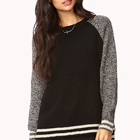 No Grey Area Raglan Sweater | FOREVER 21 - 2000110208