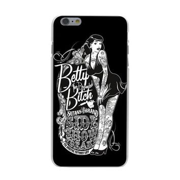 PINUP  GIRLS PHONE CASE ( iPhone 4, 5, 6, 7)